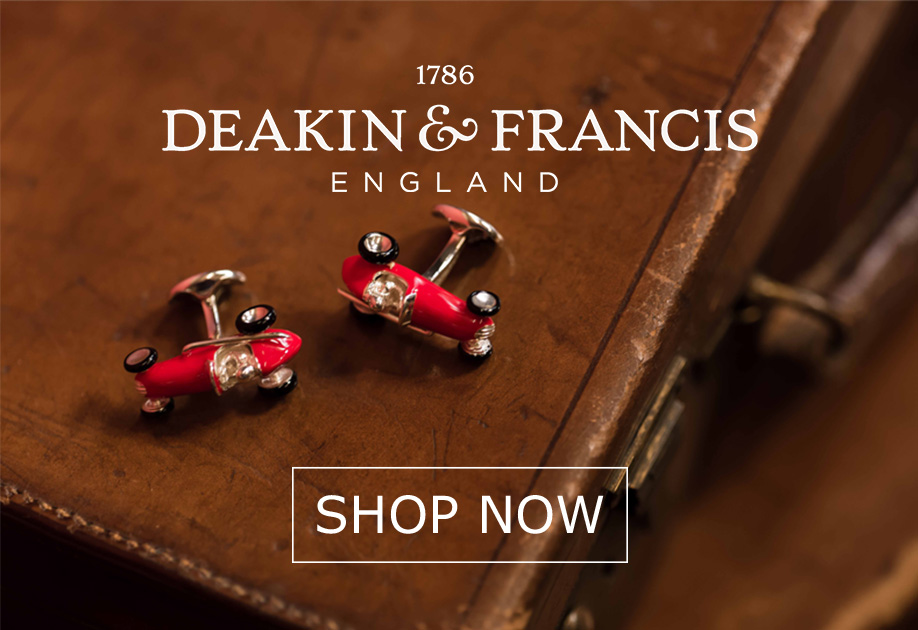 Deakin and Francis Cufflinks