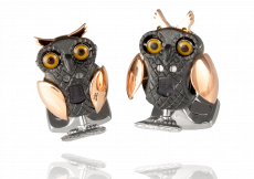 Moving Owl Cufflinks
