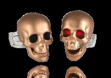 LED Skull Cufflinks